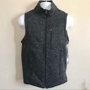 Beverly Hills Polo Club Men's Black/Gray Vest